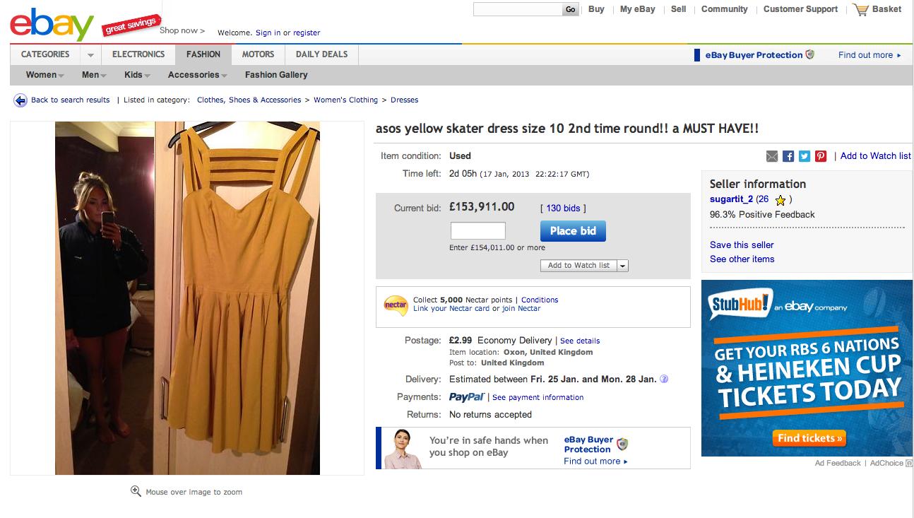 ebay accidental nude girl